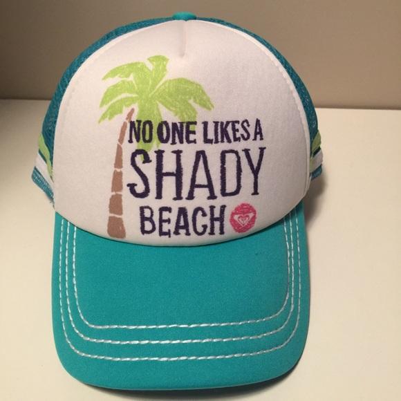 7626da7725 No One Likes a Shady Beach Roxy Trucker Cap. M_59bc92a44225bea196020bc7.  Other Accessories ...