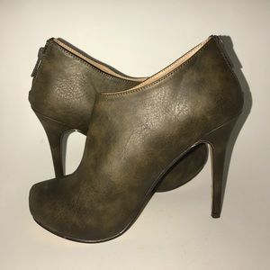 Michael Antonio Booties ~New without Box