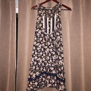 Short dress or tunic style tank