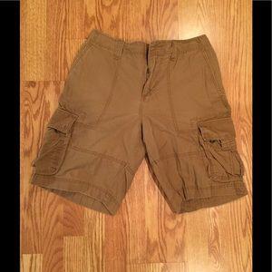Men's Mossimo Supply Co khaki/Tan cargo shorts 34W