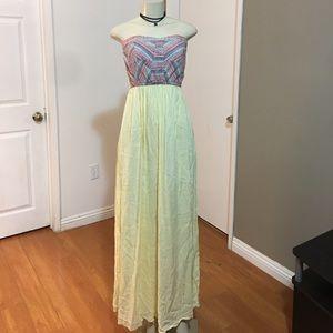 West 36 maxi dress