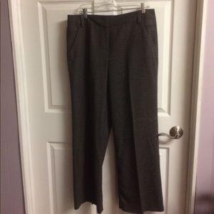 Larry Levine Stretch Brown Ladies' Pants Size 14