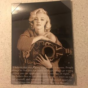 Other - Marilyn Monroe canvas