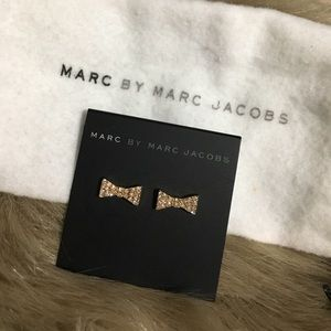 Marc by Marc Jacobs bow earrings
