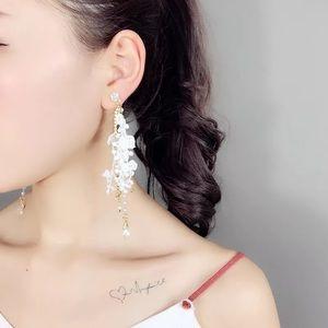 🍁HELLO FALL🍁17Basics white lace drop earrings
