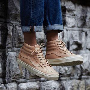 0169ee594c Vans Shoes - Vans Sk8-Hi Veggie Tan Leather Sneakers