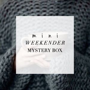 Other - mini WEEKENDER mystery box