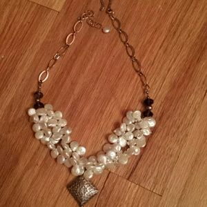 Jewelry - Pearl and Sterling Silver Choker