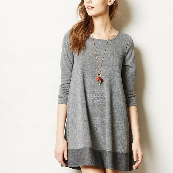 7b982d2a590cc Anthropologie Dresses | Puella Sweater Swing Dress | Poshmark