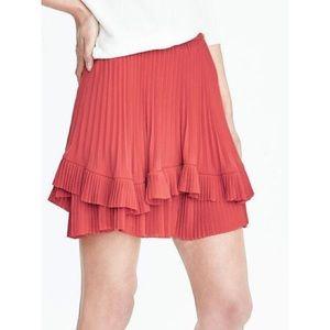 NWT Banana Republic Ruffle Tiered Skirt