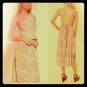 Faithful The Brand Tuscany Apron Midi Dress