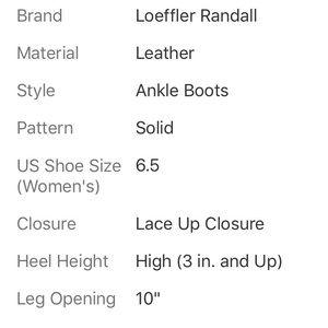 Loeffler Randall Shoes - LOEFFLER RANDALL TAUPE ANKLE BOOTIES SIZE 6.5