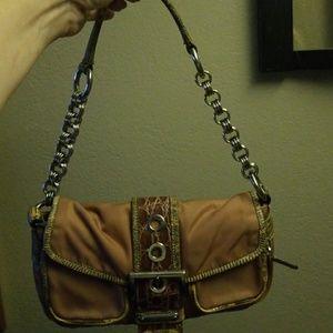 AUTHENTIC Prada alligator skin purse