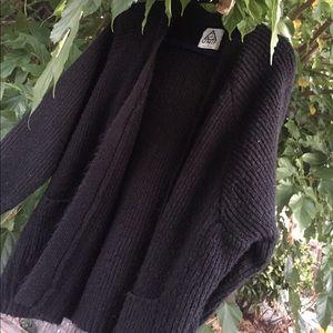Unif black cardigan