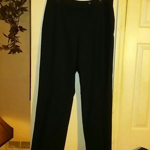 Ladies sz 12 blk dress pants by Pendleton