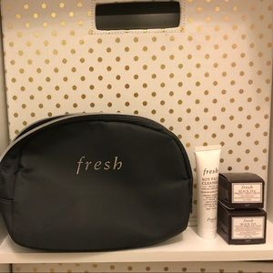 Other - Fresh skin samples and bag! Mask, cleaner & cream!