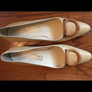 Ferragamo Flats Size 9