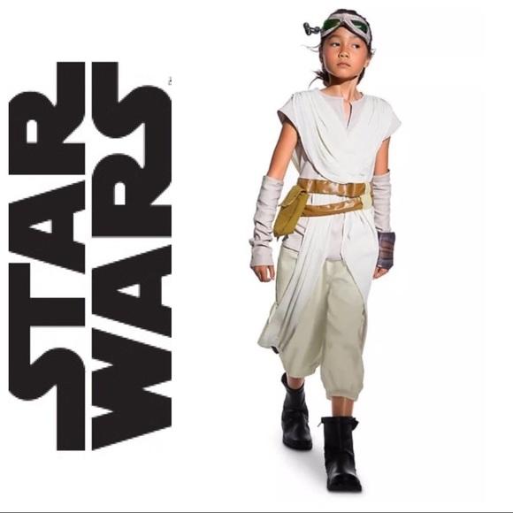 STAR WARS Rey Costume Girls NWT NWT