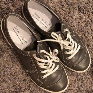 NIB Josef Seibel Caspian Leather Sneakers 38 / 7