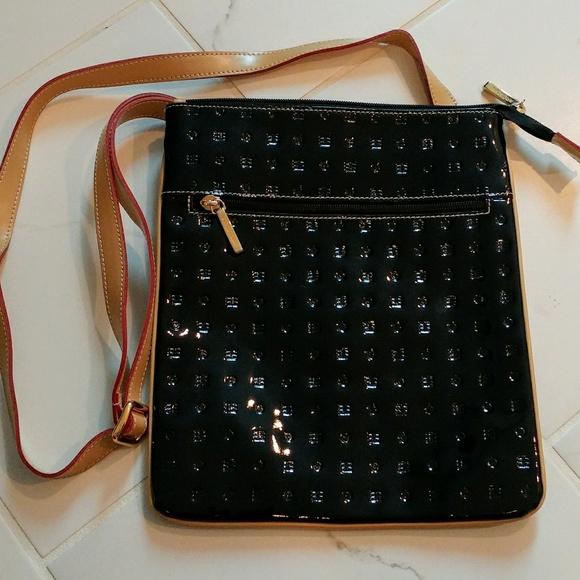 82c9935ce7a2 Arcadia Handbags - Arcadia Patent Leather Crossbody Bag
