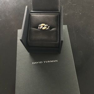 David Yurman Belmont Curb Link Ring