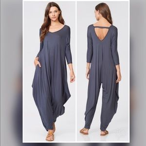 Pants - ✅✅ALL SIZES!!!✅✅Elena Harem Jumpsuit