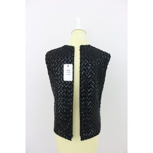 Lively Black Sequin Shell