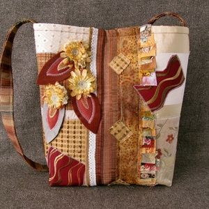 Fashionable Fabric Tote - Fall-licious