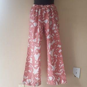 J. Crew Drawstring Waist Floral Crop Pants XS