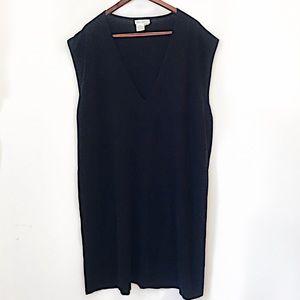 Ulla popken 24/26 black shift dress