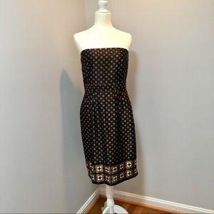 🆕 Banana Republic Strapless Dress 👗 Size 8