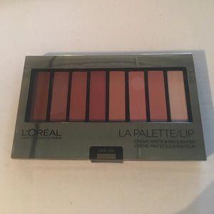 L'Oreal La Palette Lip in Nude 03