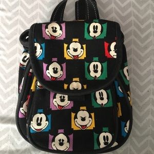 Vintage Mickey Mouse mini backpack