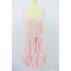 Pink Lacey Sun Dress