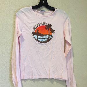 Ron Jon surf shop women's long sleeve tee
