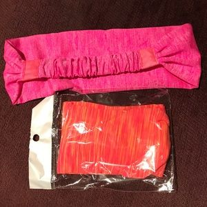 2 workout gym headbands