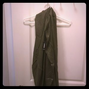 Express Circle scarf, never worn, new with tags!