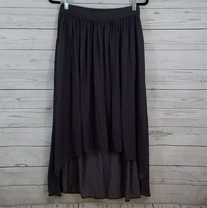 Zara High Low Skirt Med