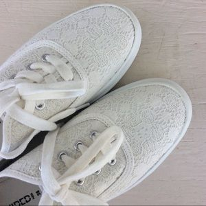 H&M Lace Sneakers