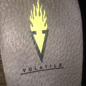 Volatile wedges