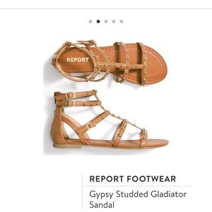 Report Footwear Gypsy Studded Gladiator Sandal