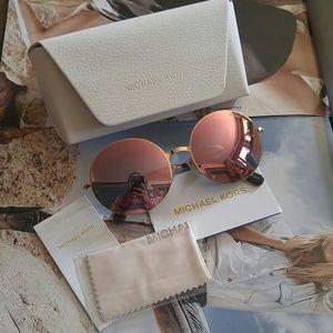 Michael Kors Kendall II Round Sunglasses