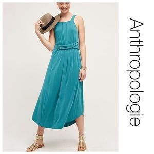Anthropologie Maeve Azores Halter Dress S NWOT