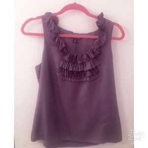 100% Silk Banana Republic Purple Camisole Top