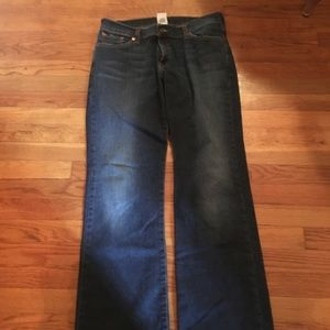 Lucky Brand Mid Rise Flare