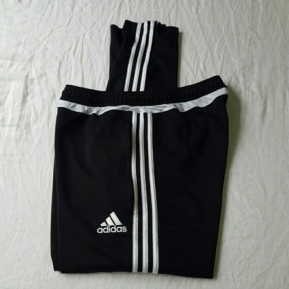 adidas Other - Adidas Tiro 15 Men s Black Training Pants Large 0bf2bc4b7a42b