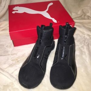 Black Puma Fierce Core Casual Shoe
