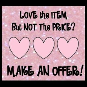 Always open to fair offers!!