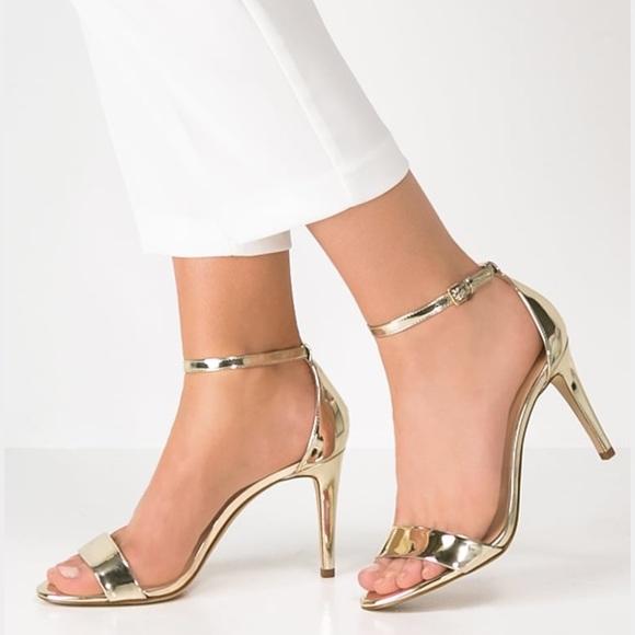 a34618355a55 Aldo Shoes - ALDO CARDROSS - High Heeled Sandals - Gold