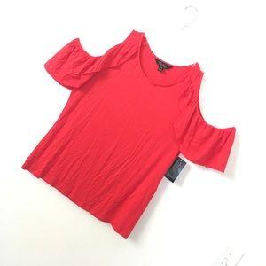 Brand new Thalia Sodi red top